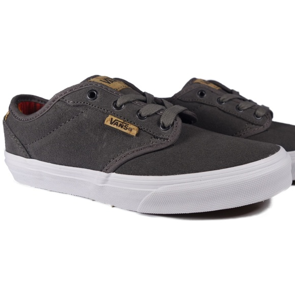 VANS Atwood Deluxe Suede (Grey / White) Boutique